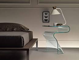 comodini in cristallo comodini moderni in vetro foto design mag