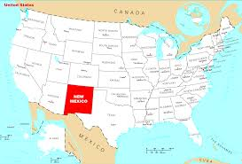 Map Of Arizona And New Mexico by Where Is New Mexico Located U2022 Mapsof Net