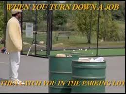 Happy Gilmore Meme - happy gilmore job meme youtube