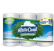 White Cloud Bathroom Tissue - save on your paper good budget with white cloud brand products