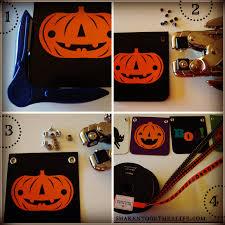 frightfully easy halloween banner u0026 my halloween shelf