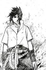 naruto sasuke sketch by takoruone on deviantart