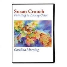 watercolor painting techniques for leaves new dvd susan crouch