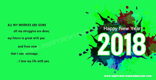 special 13 message of happy new year 2018 happy new year