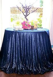 navy blue table linens elegant navy blue 3 3m round sequin table overlay 132 inch round