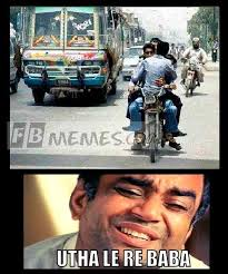 Funny Indian Memes - utha le re baba funny indian meme