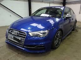 damaged audi for sale 2014 audi s3 quattro for sale at copart uk salvage car auctions