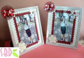 scrapbooking tutorial cornice decorazione una cornice portafoto frame and photo decoration youtube