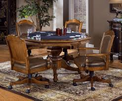 armless dining room chairs with casters dining room rolling chairs