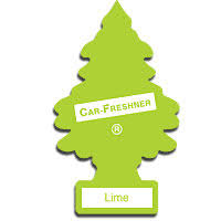 tree air freshener lime magic tree car air freshener