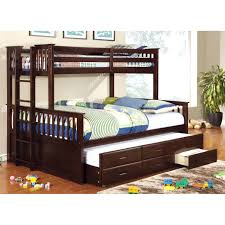 gorgeous bunk bed ideas modern casual style solid wood material 2