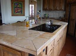 Tile Kitchen Countertop Designs Durability Tile Countertop Ideas