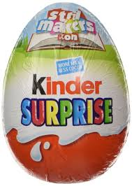 easter eggs surprises kinder egg 20 g pack of 18 co uk grocery