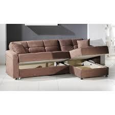 brown microfiber sofa bed vision brown microfiber sectional sofa bed all furniture usa