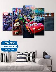 20 best collection of lightning mcqueen wall art wall art ideas disney cars canvas cars poster cars canvas lightning inside lightning mcqueen wall art image 6