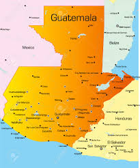 Mexico Country Map by Map Of Guatemala Stock Photos Images Royalty Free Map Of