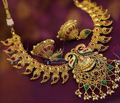 big necklace sets images Nl3725 kemp temple broad mango gold jewellery design traditional JPG