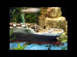 mon aquarium titanic
