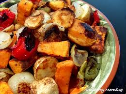 cranberry morning thanksgiving roasted vegetables recipe