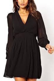 chiffon dress stylish v neck sleeve chiffon dress sleeve dresses