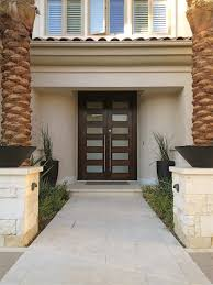 modern glass exterior doors