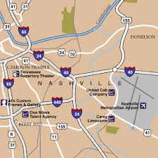 nashville on map nashville international airport airport maps maps and directions