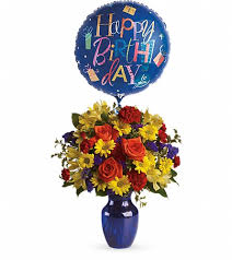 birthday boquets fly away birthday bouquet in alamogordo nm alamogordo flower company