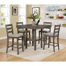 bar height dining room sets kitchen tahoe 5 piece counter height dining set breathtaking