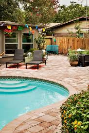 Cracked Concrete Patio Solutions by Carvestone Can Cover Concrete Pea Gravel Cool Deck And Brick Pool