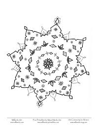 snowflake coloring pages getcoloringpages com