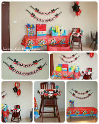 Mickey Mouse Chair by Jackson U0027s First Birthday Happy Birthday Banners Mickey Mouse
