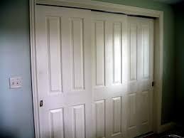 Six Panel Closet Doors Ideas Exciting Sliding Closet Doors With White Door Casing Style