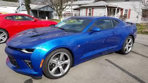 blue chevrolet camaro 2016 chevrolet camaro ss hyper blue for