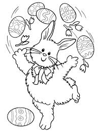 printable easter bunny coloring pages coloringpagebook com