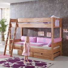 Crib Mattress Bunk Bed by White Solid Wood Bunk Beds Solid Wood Bunk Beds U2013 Modern Bunk