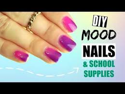 diy color changing nail polish notebooks and pens really