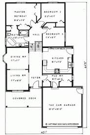 backsplit floor plans 1361 sq ft change to open concept living backsplit house plan
