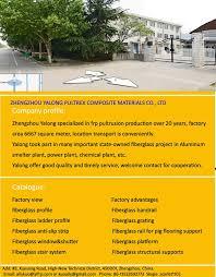 Fiberglass Handrail Industrial Fiberglass Railing Handrail Fence Guardrail Chemical