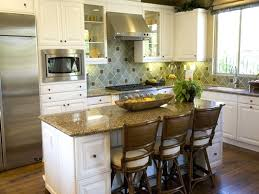 space for kitchen island small kitchen islands pictures options tips ideas hgtv