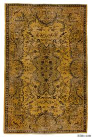 Vintage Overdyed Turkish Rugs K0006173 Over Dyed Turkish Vintage Rug Overdyed Vintage Rugs
