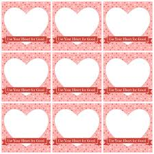diy valentine u0027s day cards be good with your heart u2013 free printables