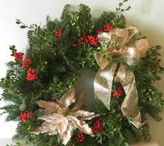welcome to des fleurs garden club holiday wreath sale new this
