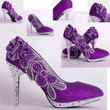 Wedding Shoes Purple Shoe Massager Picture More Detailed Picture About Bling Glitter