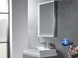 Bluetooth Bathroom Mirror Illuminated Bluetooth Bathroom Mirror With Speakers Tavistock