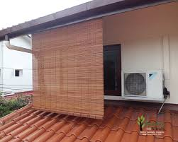 bamboo shades outdoor patio clanagnew decoration