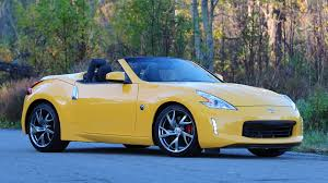 nissan 370z yellow edition 2017 nissan 370z roadster review old dog same tricks