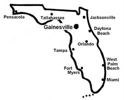 gainesville map gainesville florida location map for the of florida easy