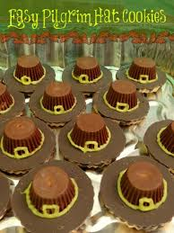 easy pilgrim hat cookies for thanksgiving no baking required