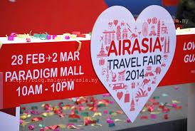 airasia travel fair airasia travel fair 2014 malaysia asia