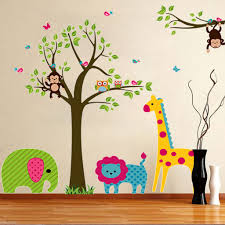 Monkey Baby Room Compare Prices On Wall Decor Nursery Online Shopping Buy Low